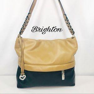 Brighton Two Tone Leather Shoulder Bag